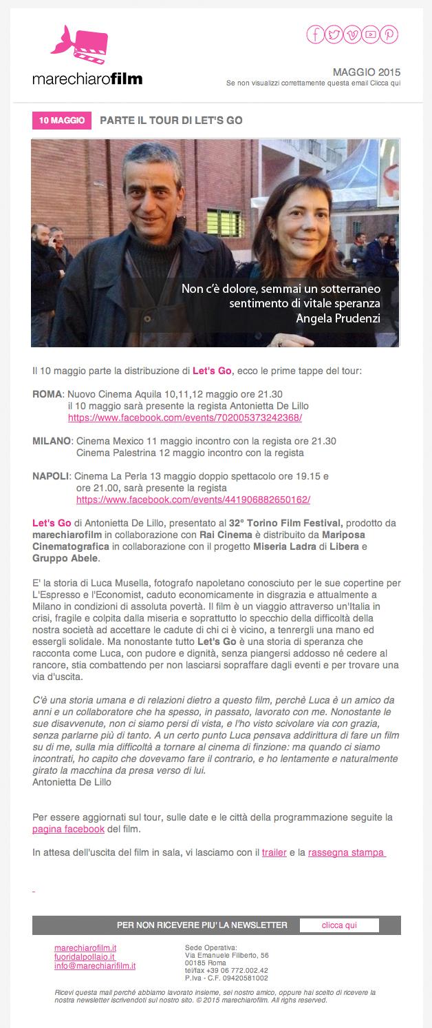 newsletter maggio 2015